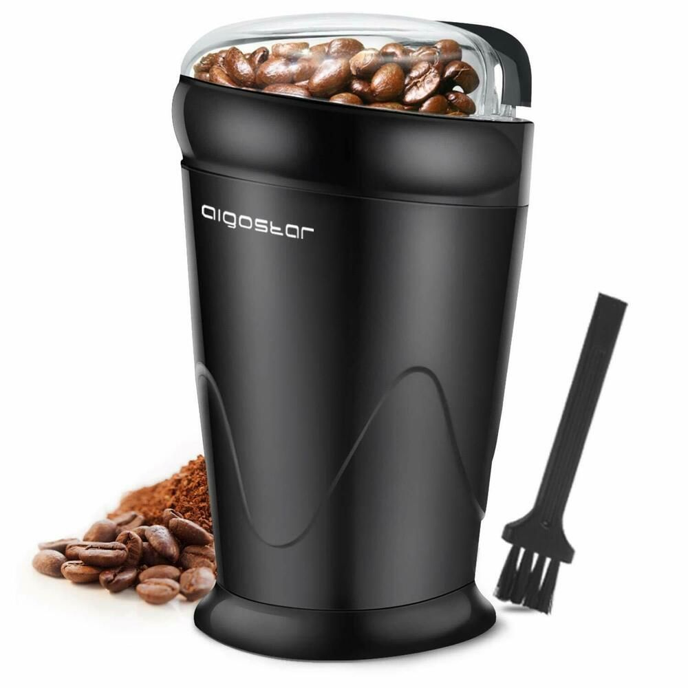 Aigostar coco electric coffee grinder with stainless