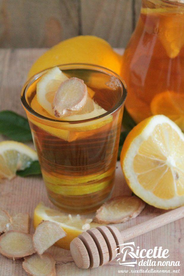 limone miele e zenzero per dimagrire
