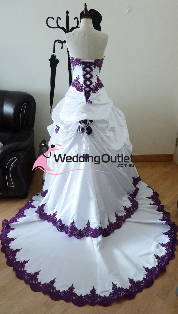 Layered Hairstyles White With Purple Wedding Dresses Scarlett