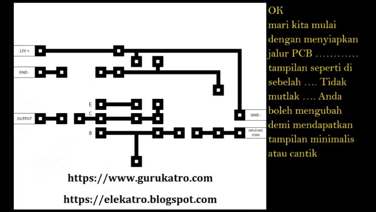 Merangkai Pre Amp Mic Condenser Mic Electronics Projects Dc Circuit