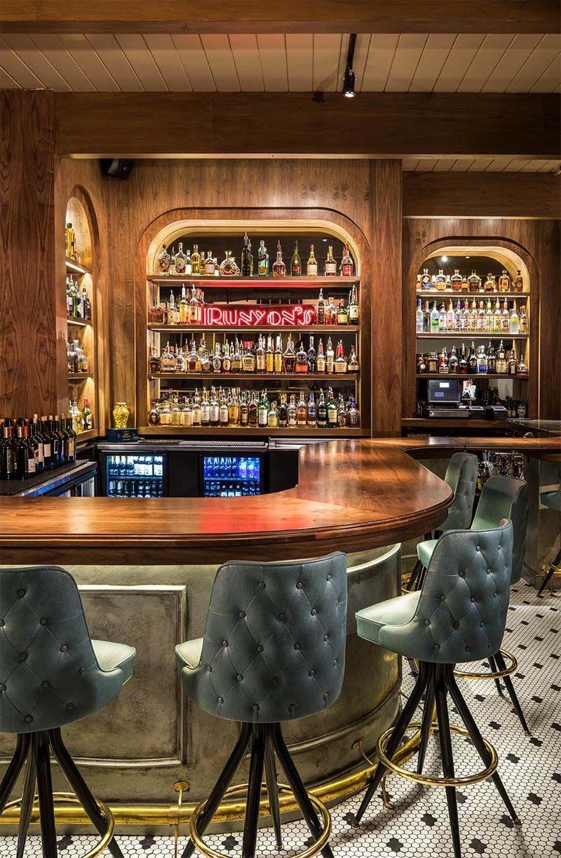 Runyon S Restaurant Design By Bigtime Design Studios