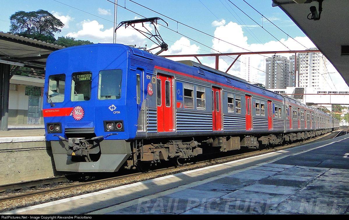 1731 CPTM Series 1700 MAFERSA at São Paulo, Brazil by