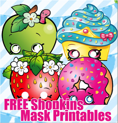 picture regarding Free Printable Shopkins identify Shopkins Birthday Celebration Printable Centerpiece Figures and
