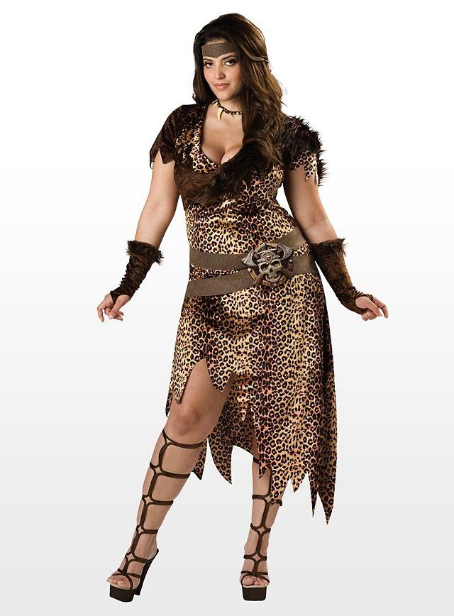 Jungle Queen Costume | XXL Übergrößen-Kostüme / Plus Size Costumes ...