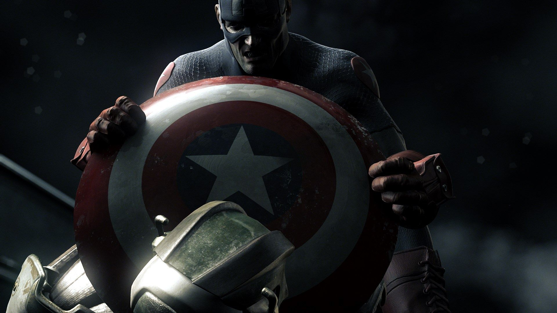 Hd wallpaper of captain america - Captain America Shield Marvel Comics Hd Wallpapers