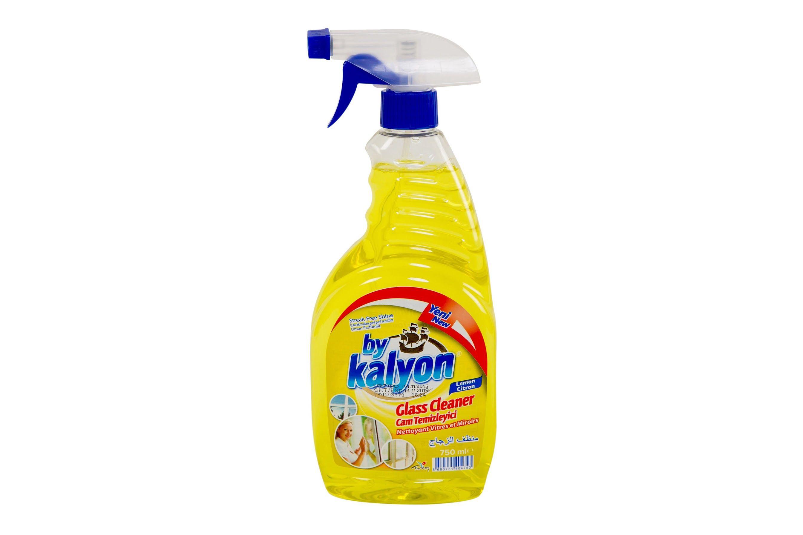 كاليون منظف زجاج 750 مل بخاخ Cleaning Supplies Spray Bottle Cleaning