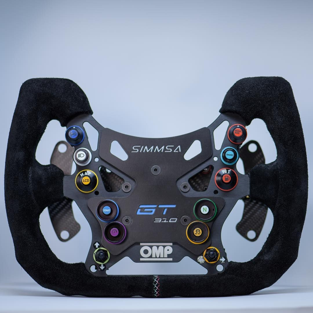 """custommade """"OMP 310 Alu GT"""" with #andruino for #OSW #opensimwheel"""