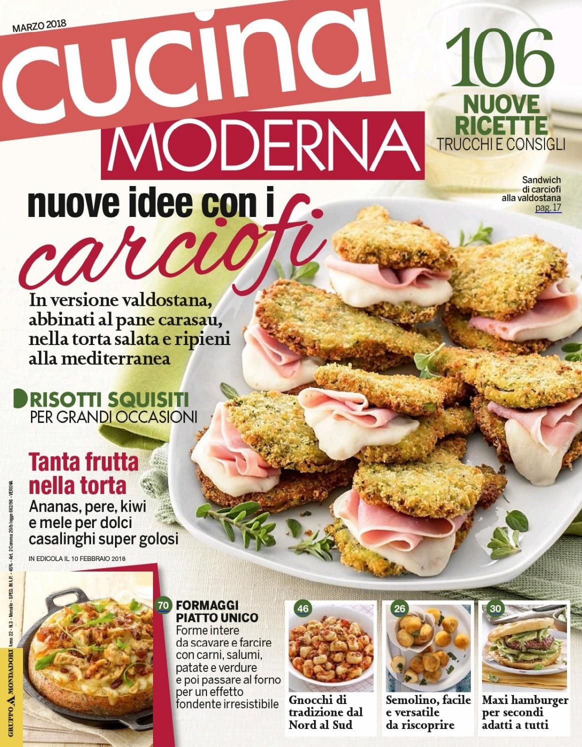 Rivista Cucina Moderna Cucina Moderna Marzo 2018 Magazines Easy Dinner Recipes