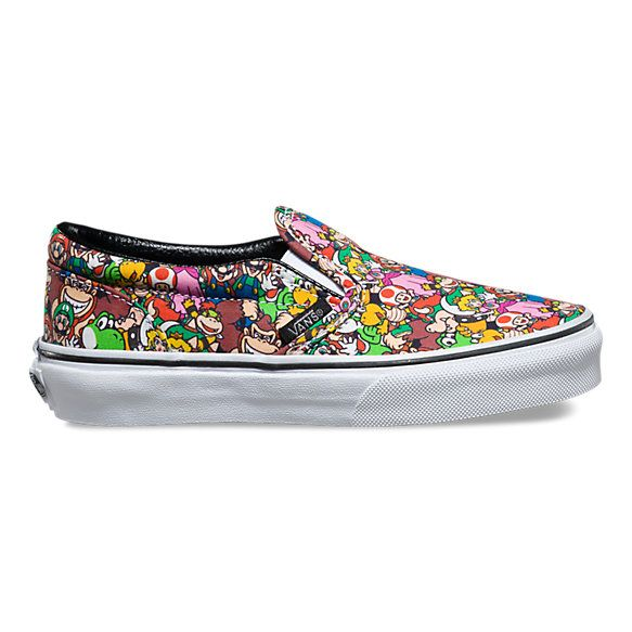 vans youth slip on