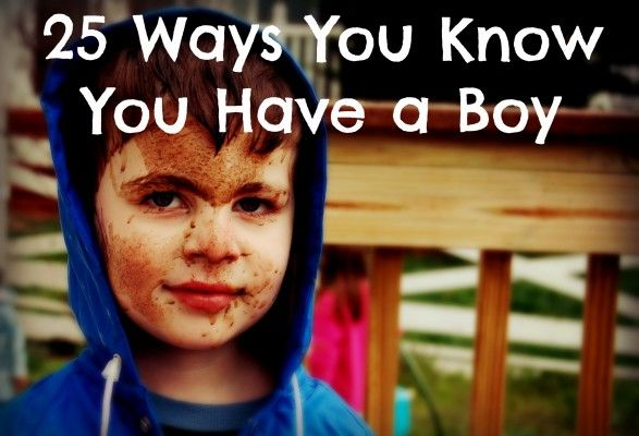 Ways You Know You Have a Boy | Gender issues