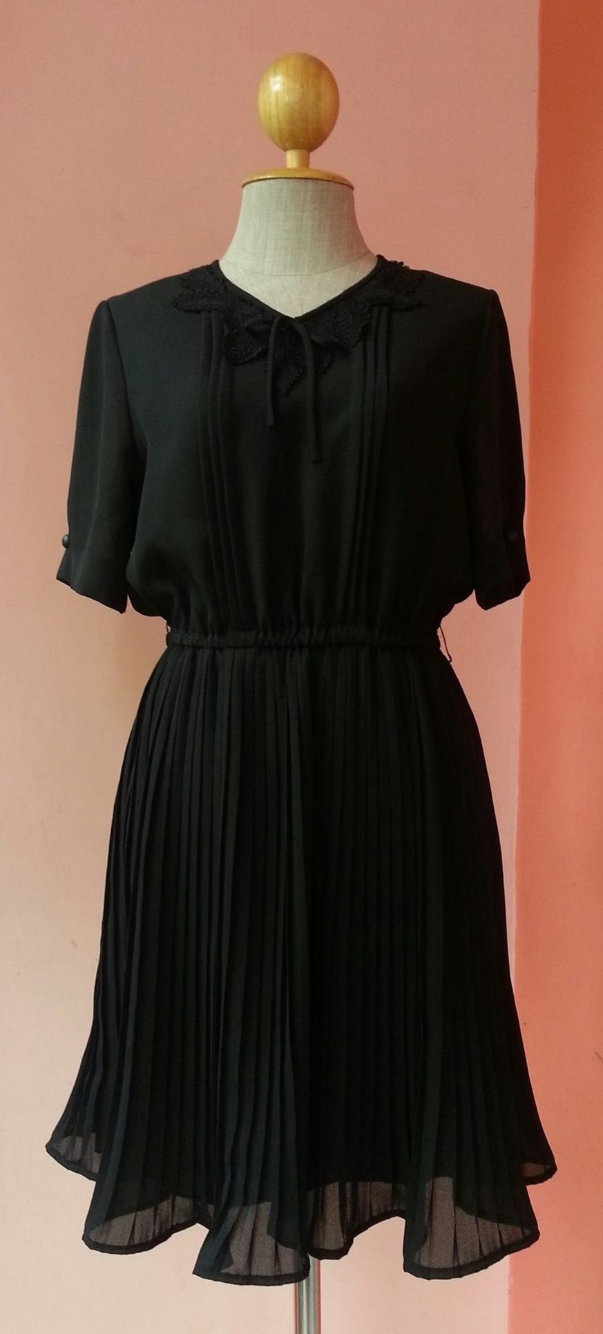 Black Dress 80s Prom Dress Vintage Party Dress 1980s Dress Women ...