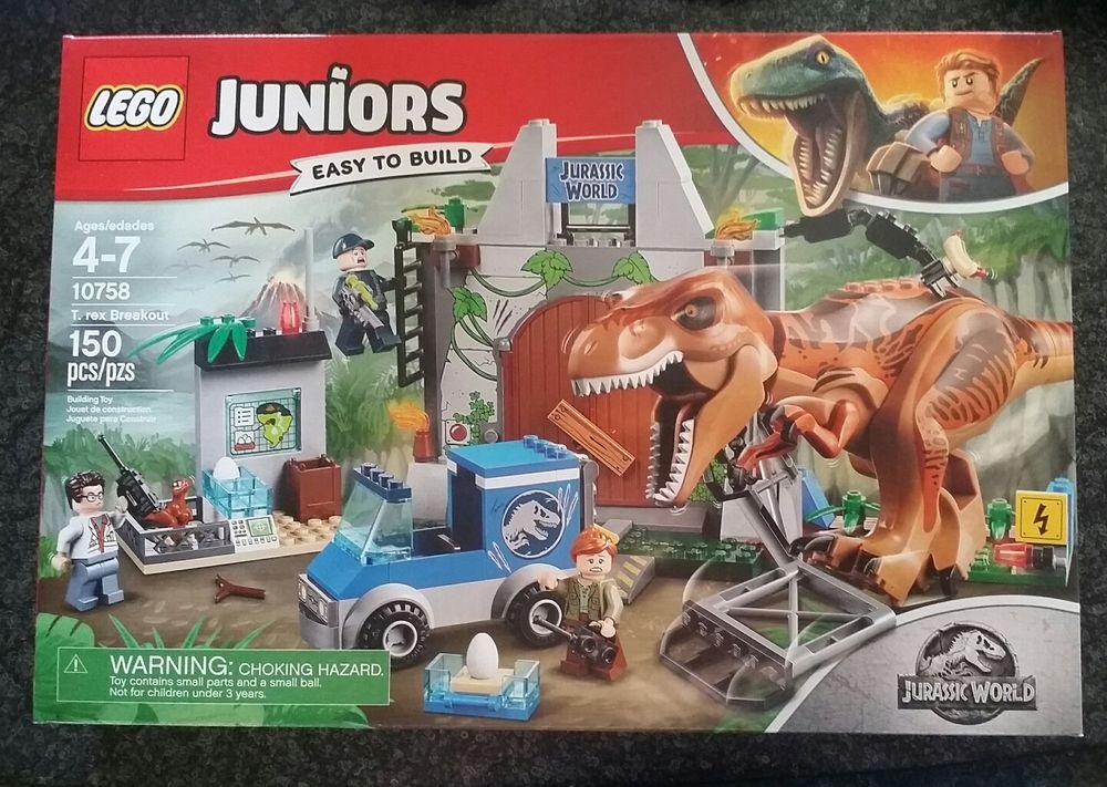 LEGO 10758 Jurassic World T rex Breakout SEALED