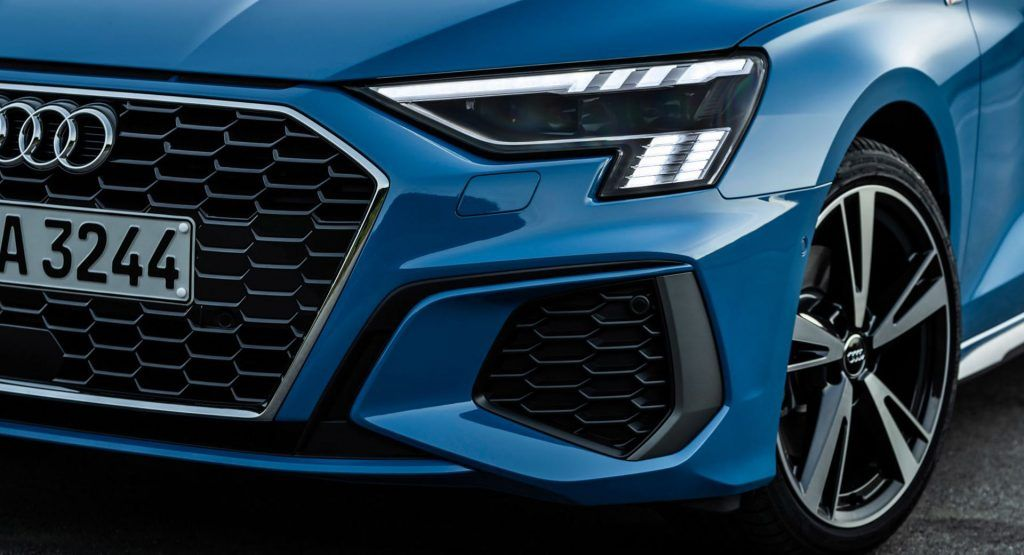 2021 Audi Rs3 S Headlights To Have A Chequered Flag Led Signature Carscoops In 2020 Audi Audi Rs3 Checkered Flag