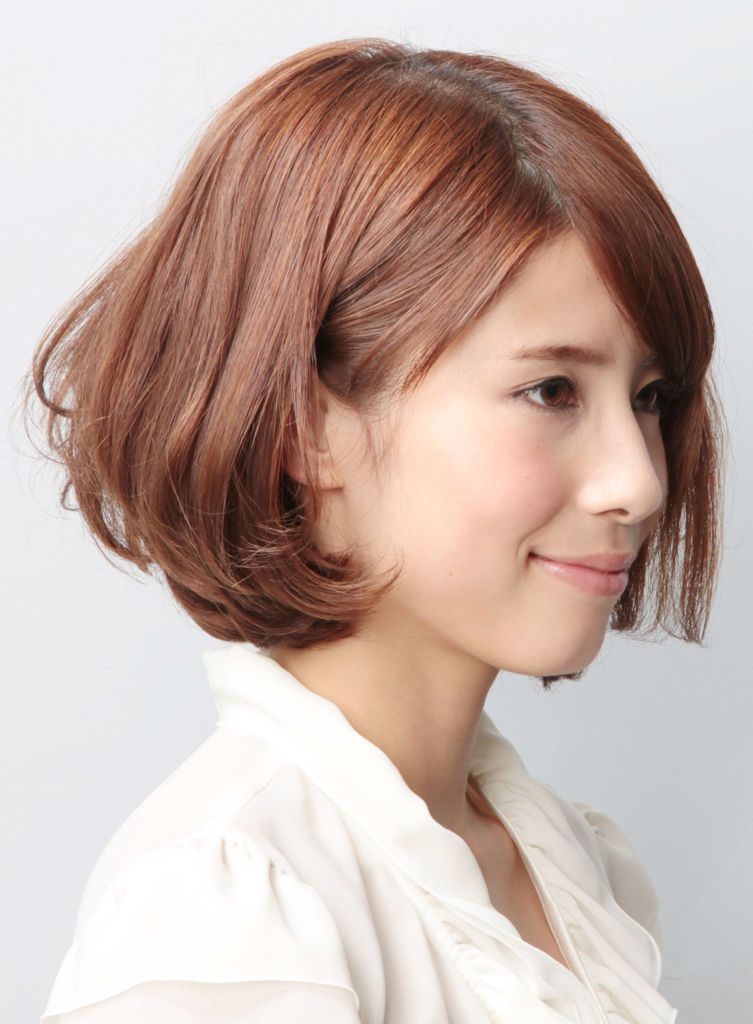 bob #mediumhair #cute #Japanese #haircut  Cute hairstyles for