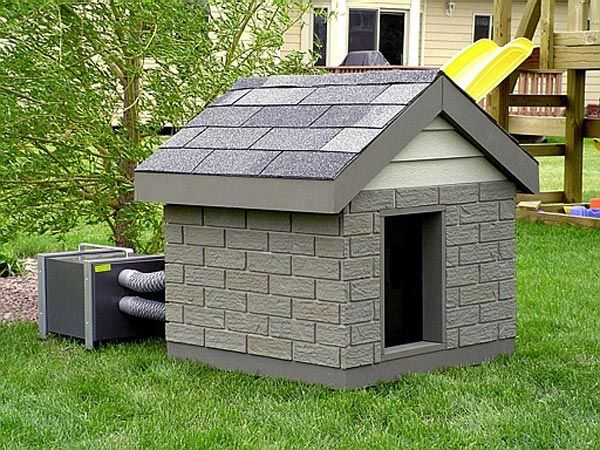 Homemade Climate Control Dog Houses For Cheap Pitbulls Go