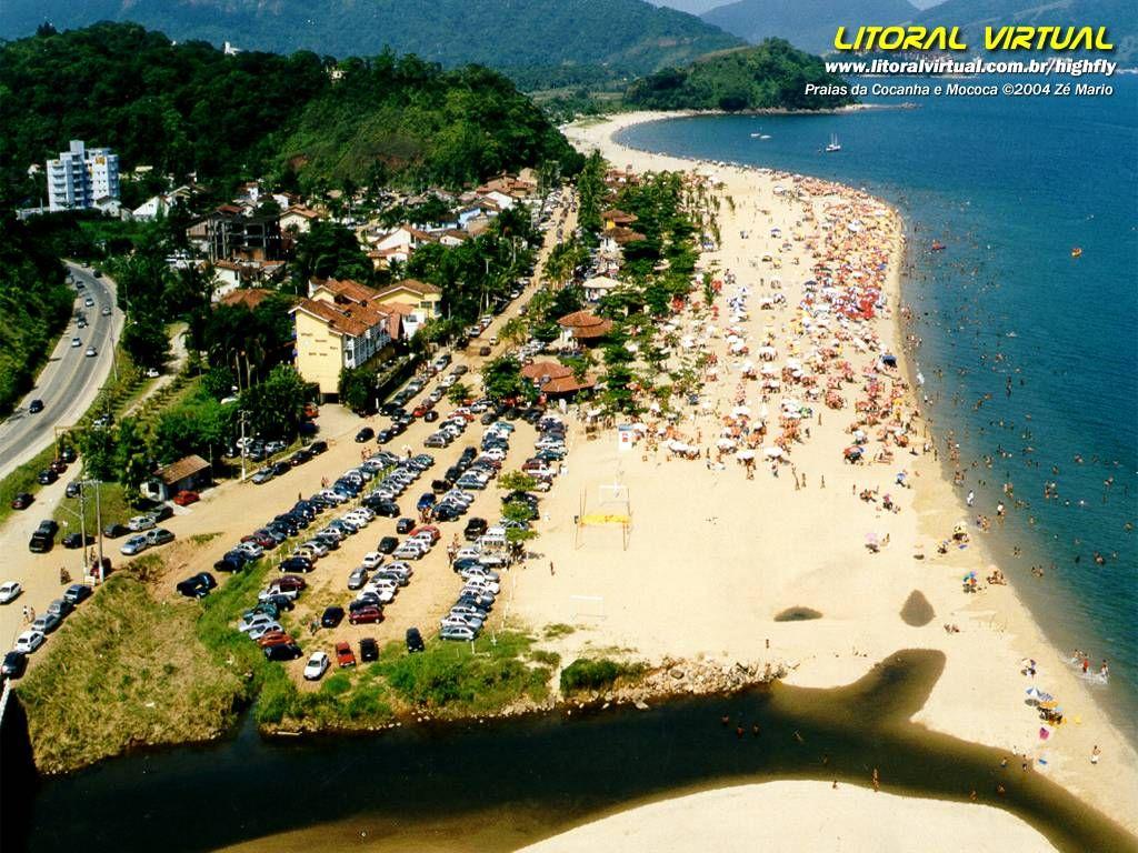 Praia Da Cocanha Caraguatatuba Sp Caraguatatuba