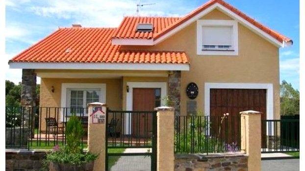 Resultado de imagen para fachadas de casas lujosas con for Fachadas de casas de 2 pisos con balcon