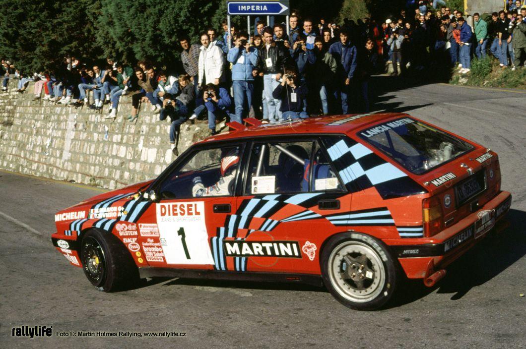 San Remo 1989 Biasion Miki Siviero Tiziano Icon Lancia Delta