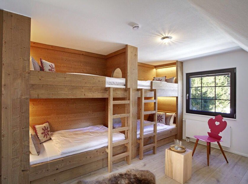 Bunk Beds Build In Room Luxury Guest House Black