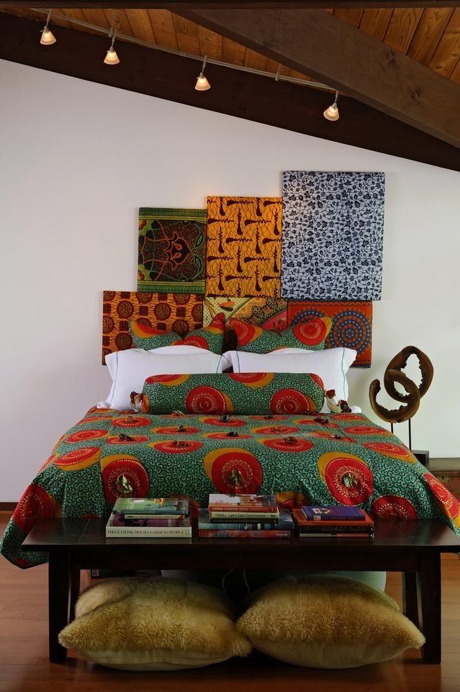 lit adulte imprim s africains linge de lit en wax inspiration la d co wax en 2019. Black Bedroom Furniture Sets. Home Design Ideas
