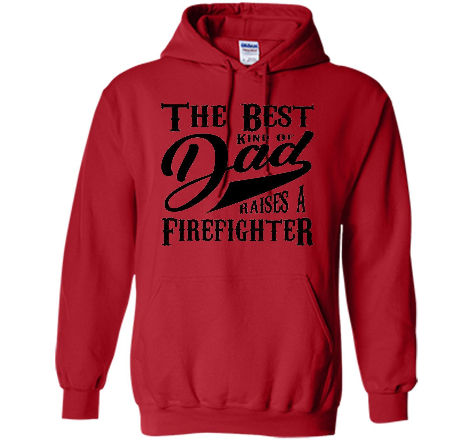 Men's Father's Day Gift T Shirt for a Firefighter 's Dad