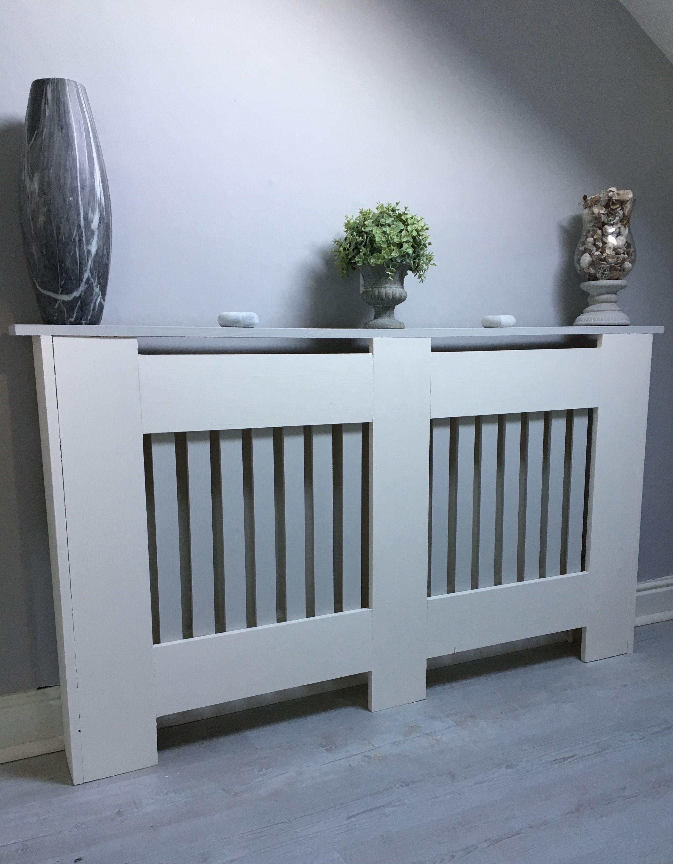 Grey and white diy radiator cover radiator cover grey