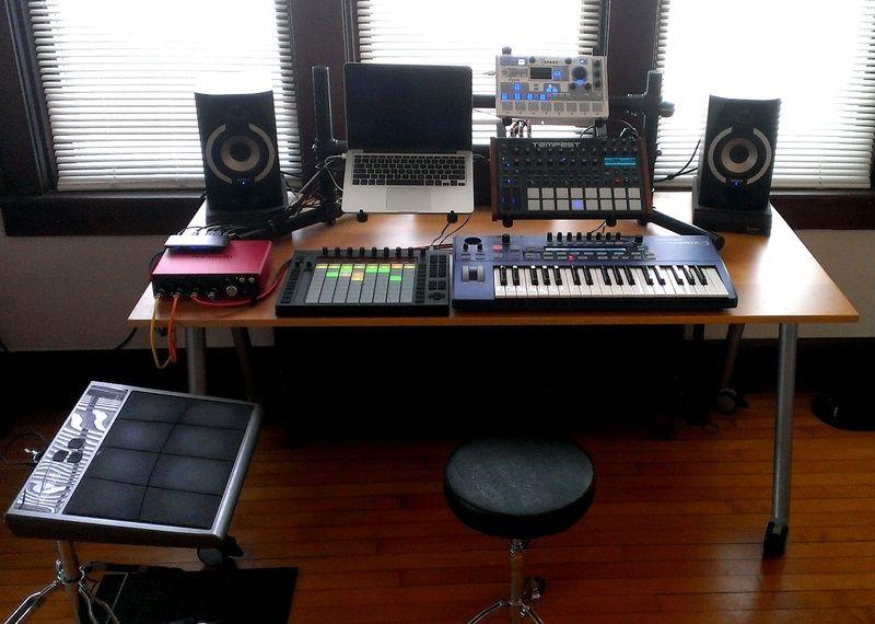 Cool Music Production Setup Ft Ultranova Push Tempest