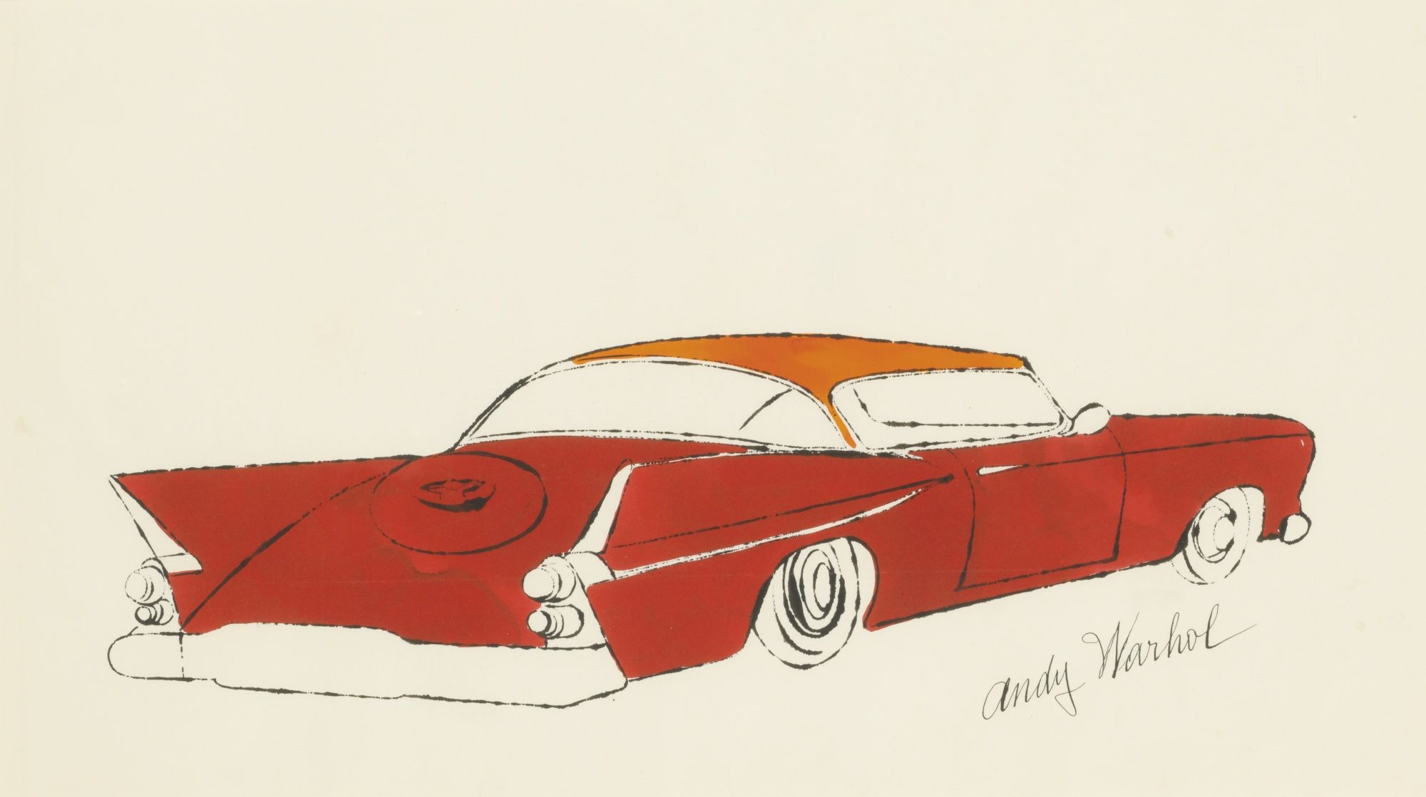 UNTITLED (RED CAR)