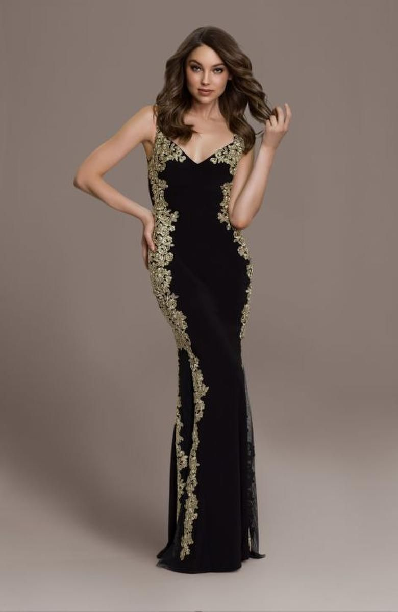 a797fbf4d6c9 Amazing betsy adam dress long ity tank with lace applique