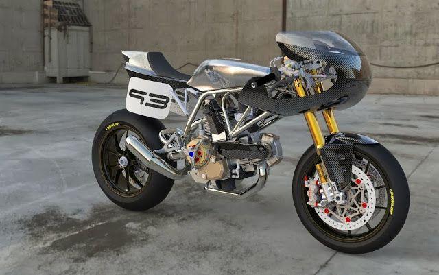 RocketGarage Cafe Racer: Ducati Cafra