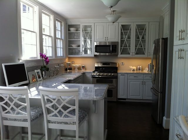 Beautiful Kitchen Remodel Using Kraftmaid Cabinet From Home Depot At The Luxe Lifestyle Update