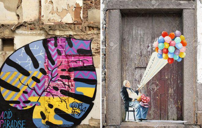 El arte urbano tiñe Malasaña https://t.co/C62150gYK7 #Madrid
