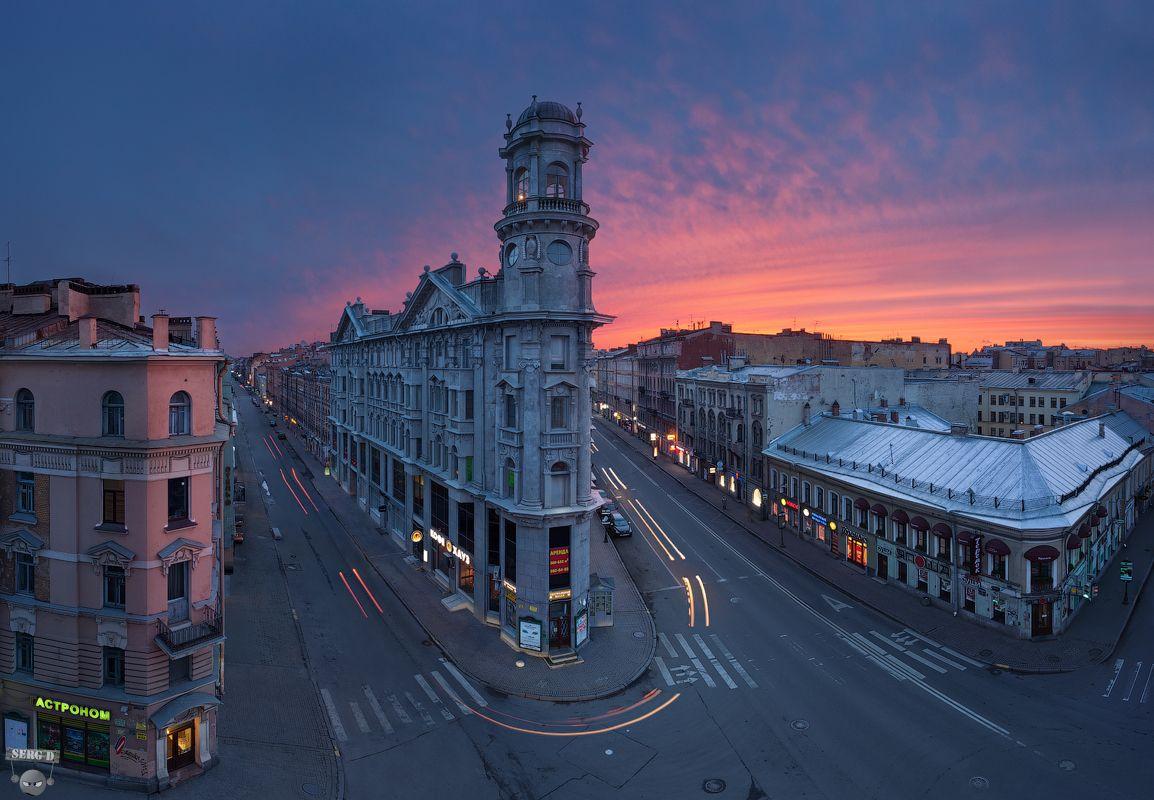 Прекрасные городские пейзажи Сергея Дегтярева