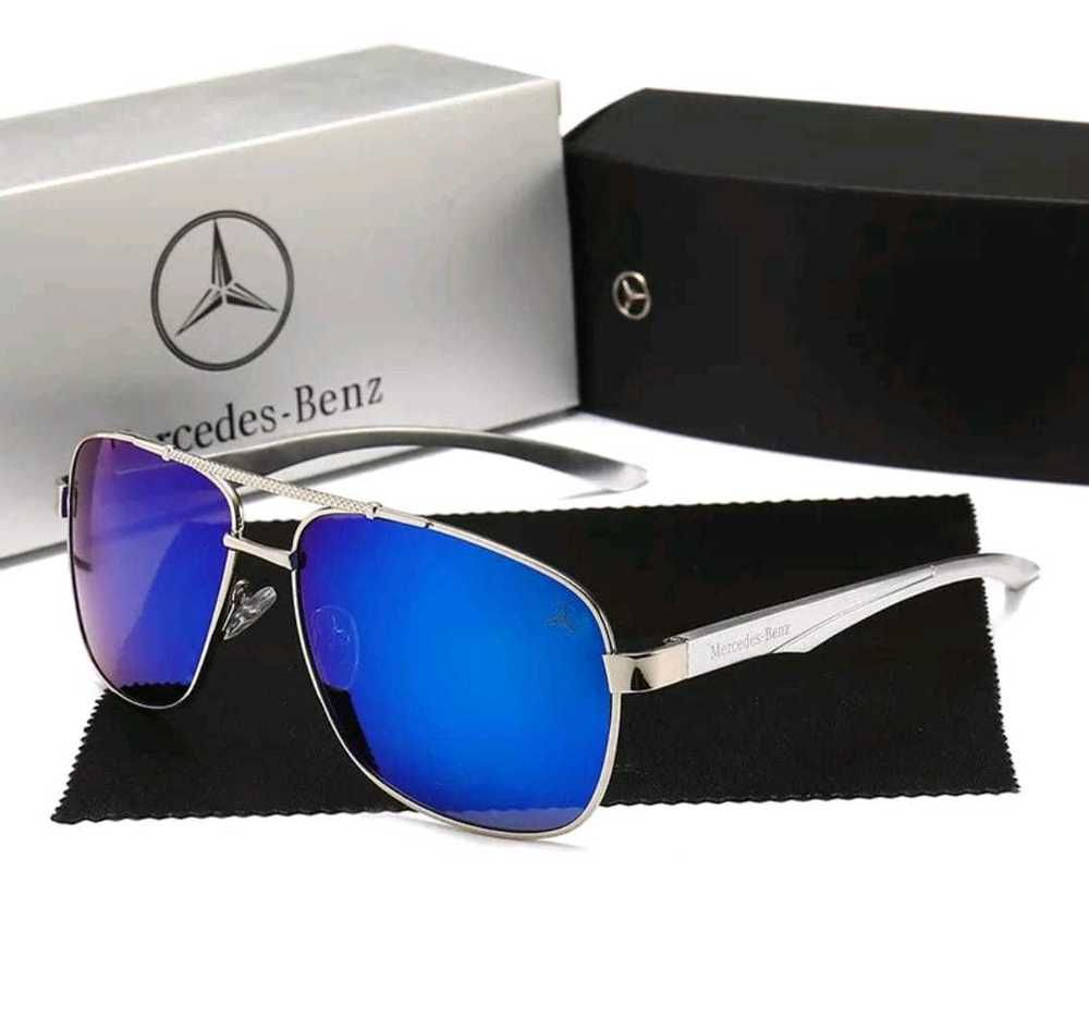 0516f2f996 Mercedes Benz gafas de sol diseño us army mod polarizada y 100% UV400 gris  azul