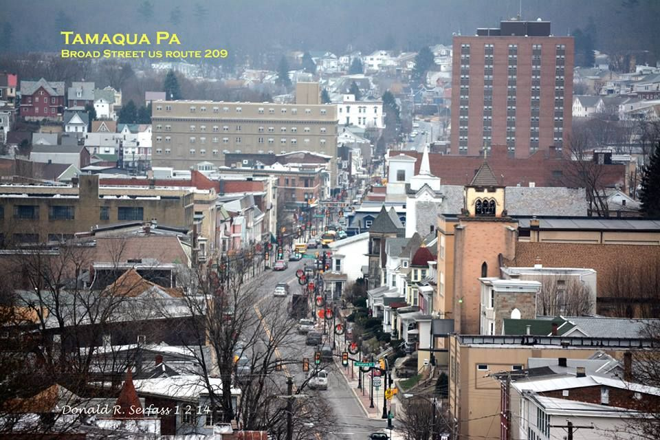 Broad Street Tamaqua Pa Small Towns Usa Places Small Towns