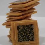 QR | Eric Ortuño ha creado unas galletas Shortbread de crema de cacahuete caramelizado en las que se puede escanear el código QR que aparece en cada galleta que da acceso al paso a paso de la receta