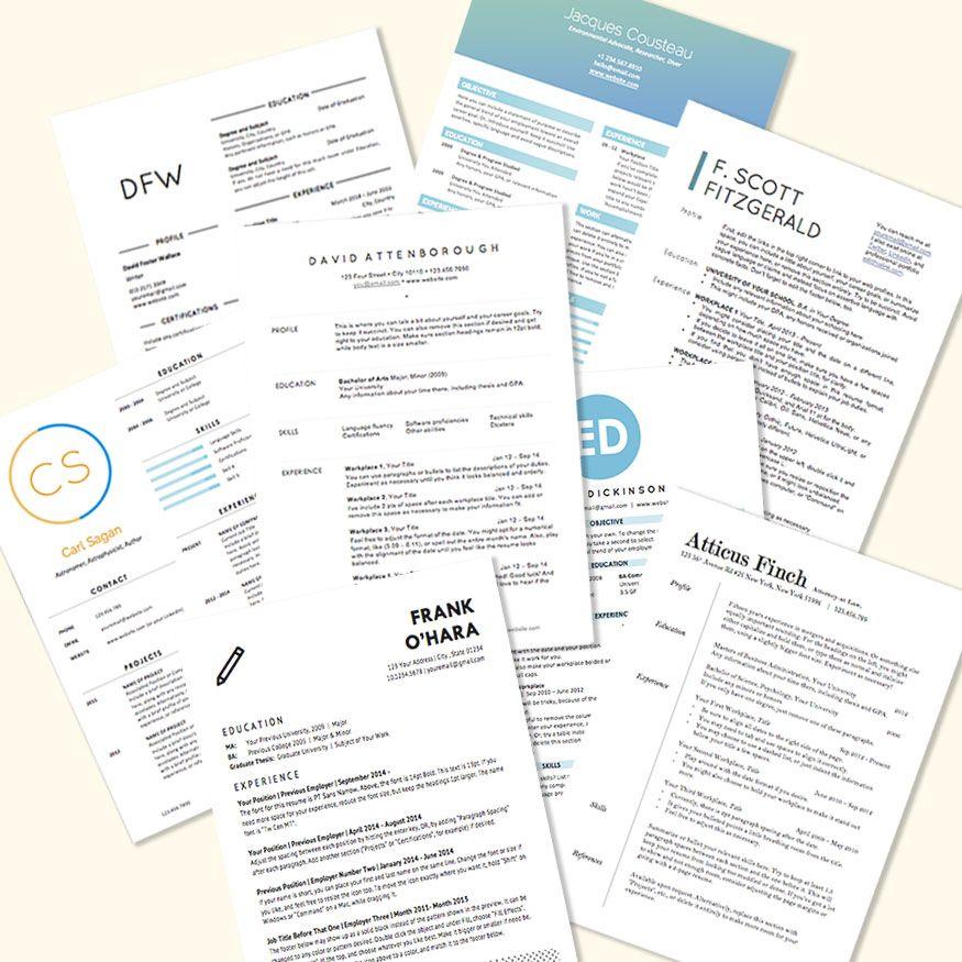 6 Resume Design Tips (With images) Resume design, Career