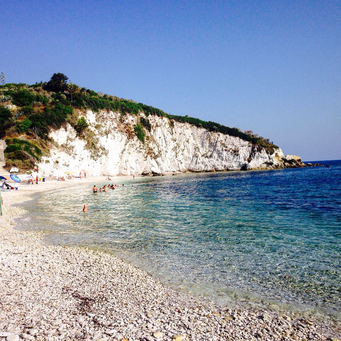 Isola d'Elba spiaggia la padulella estate 2015