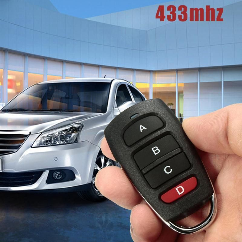433mhz Cloning Cloner Smart Electric Garage Door Car Remote Control