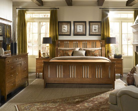 15 Beautiful Craftsman Bedroom Designs | Mission style bedrooms ...