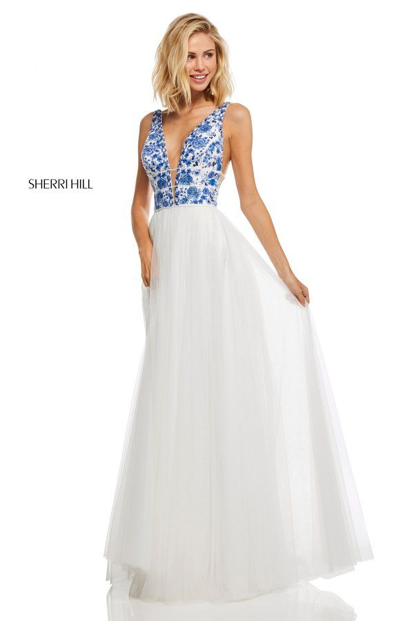 758f74263c0fb Sherri Hill Style 52672 | Spring 2019 Collection Preview in 2019 ...