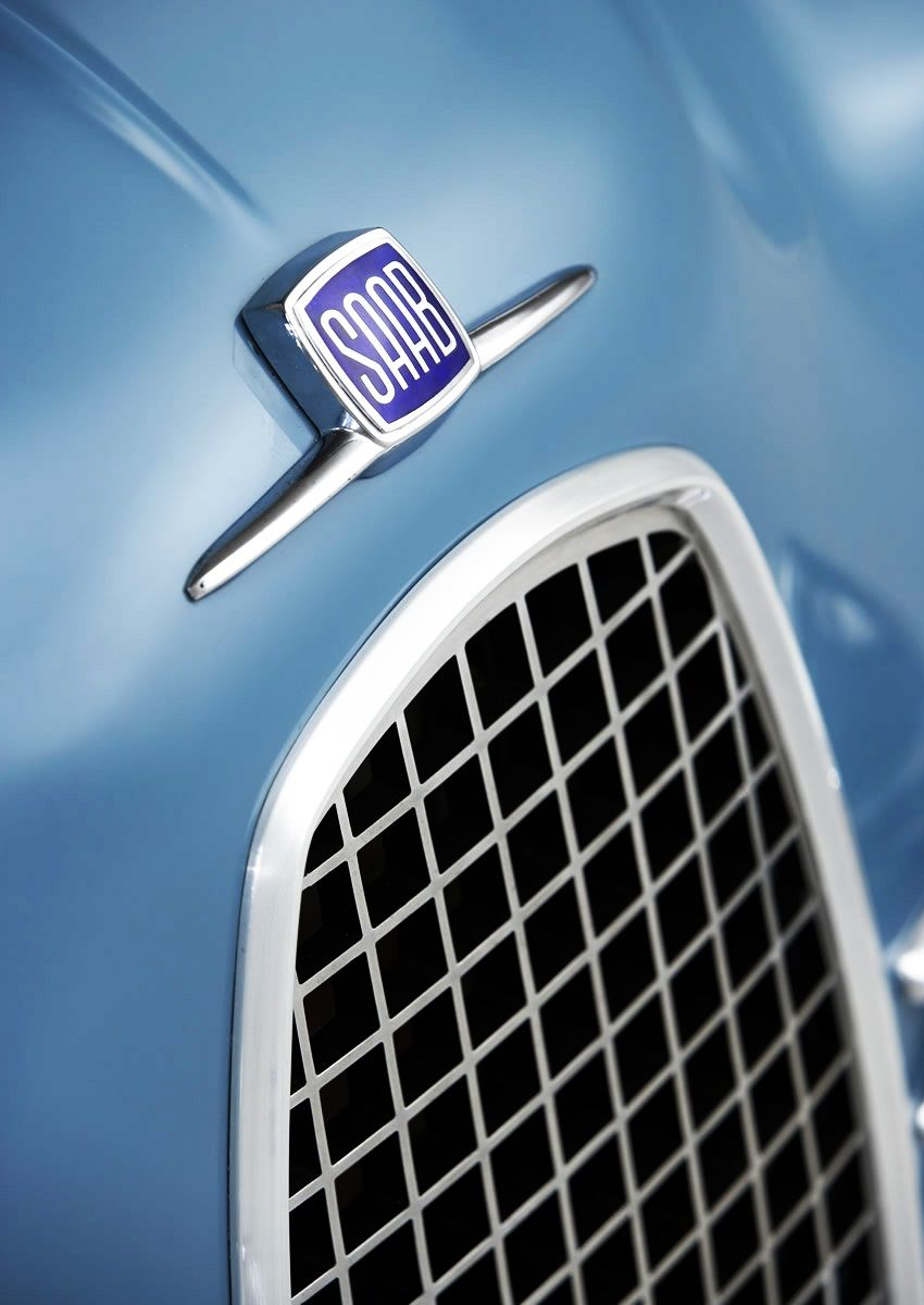 1958 Saab 93 Gt750 Saab Turbo Saab Car Badges