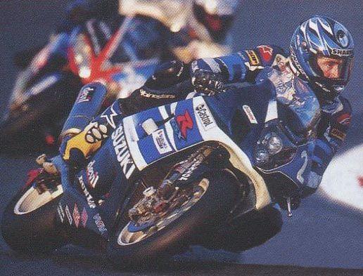 JeanMichel lors de cette épreuve du Bol d'Or 2003 Moto