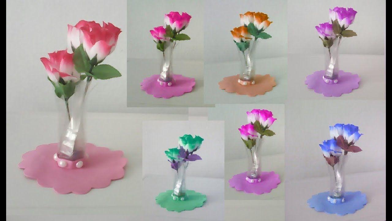 Vaso De Garrafa Pet Use Como Lembrancinha Decoracao Reciclagem De