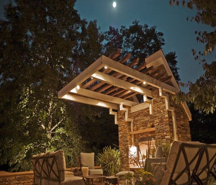 Our 4 Favorite Patio Pergola And Deck Lighting Design Tips: Trellis Over A Deck, The Best Option