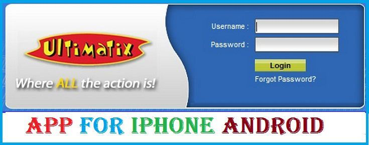 Ultimatix App for iPhone Android Touch and All mobile