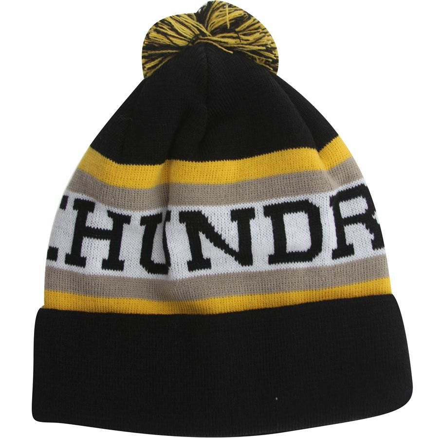 7653122426b The Hundreds Division Beanie (black) T12W106073BLK -  29.99 ...
