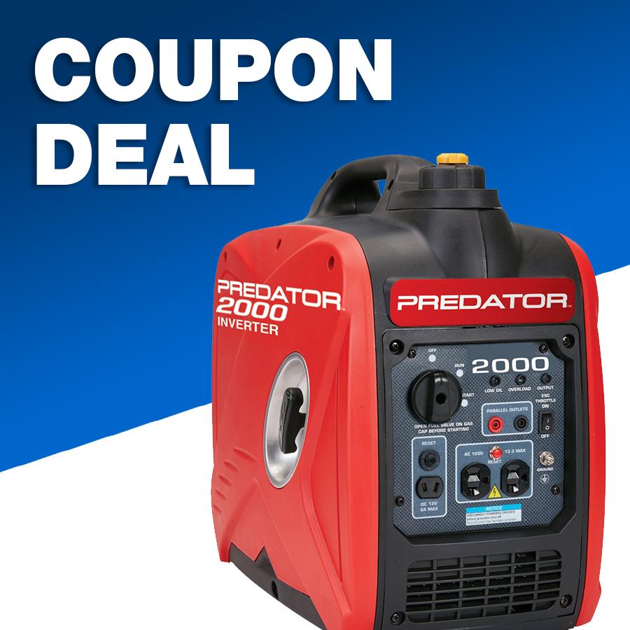 Buy Our 2000 Watt Inverter Generator for Only 439.99