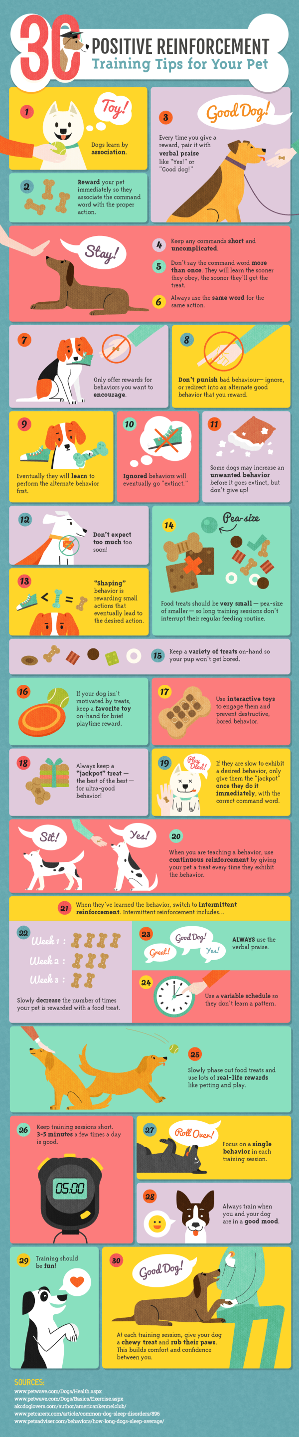 Positive Dog Training Infographic Amber Kingsley for DogBuddy Blog. Seems useful for children too!