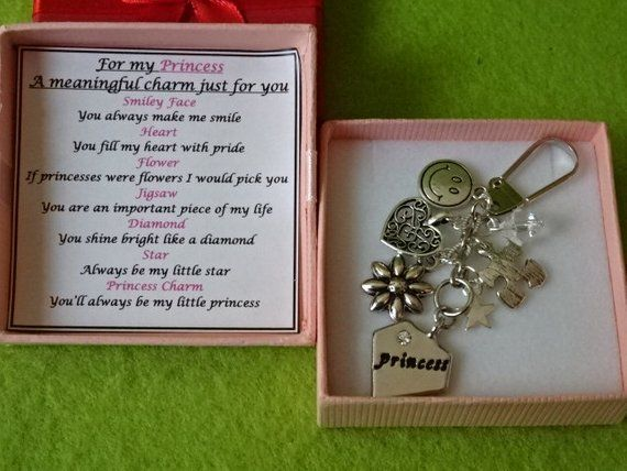 Meaningful Keepsake For Dad key ring Charm Gift Box Rhymes Birthday Christmas